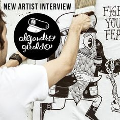 In addition to discussing the early in Medellín, we touch on the growing art scene down there, what it takes to build your own clothing line and what all the best clients have in common. Sea Illustration, Illustrations, Drawing Skills, Most Favorite, New Artists, Interview, Scene, Community, Graphic Design