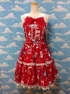 Magical Etoile Sailor JSK in Red from Angelic Pretty - Lolita Desu