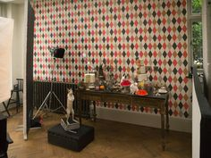 """""""Punchinello"""" - Whimsical collection from Cole & Son. All Cole & Son papers are available from @Amity_Ltd"""