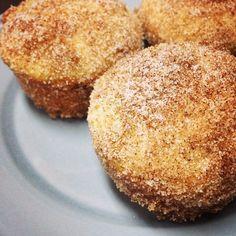 Cinnamon-sugar doughnut muffins. The flavor of a doughnut, in the form of a muffin. Delicious!