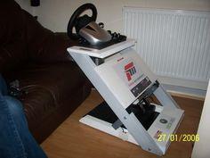 diy steering wheel stand - Bing Images