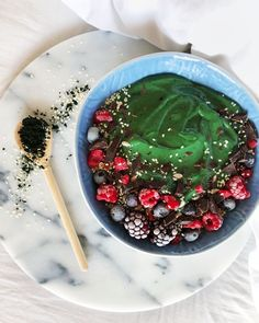 Photo & Recipe: @Monbowls   Soaring Free Superfoods (@soaringfreesuperfoods) Superfoods, Create, Red, Recipes, Recipies, Ripped Recipes, Super Foods, Recipe, Cooking Recipes