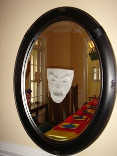 Snow White Party... you have to have the mirror in your decorations!