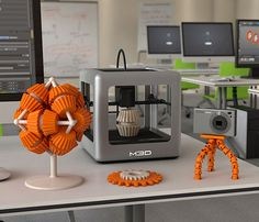 The Micro 3D Printer - Easy, out-of-the-box operation in a compact, user-friendly design makes the Micro a real contender. It uses either ABS or PLA filaments and their simple software makes designing your 3D model as easy as watching the extruder build it up & spit it out. | Werd