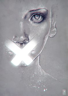 Cross. Sketch by sashajoe