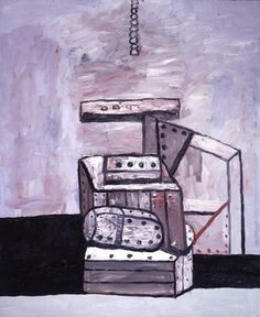 Philip Guston: Balance 1979, oil on canvas, 72 x 60 inches, Private Collection