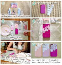 Lace Video Part 2 - Lace Phone Case