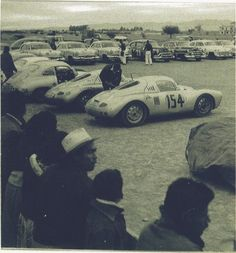 1953 Carrera Panamericana . . Birth of the namesake performance name of PORSCHE . .550 -001/002 Class winner