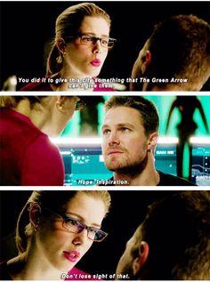 Arrow - Oliver & Felicity #4.7 #Season4 #Olicity