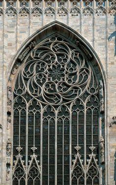 Rose Window in Milan