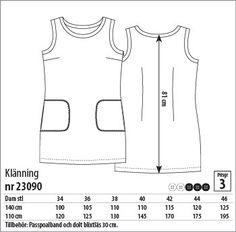 Klänning - 23090 - Stoff & Stil
