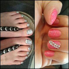 Cute nails & toes