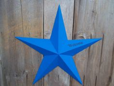 "barn stars come in 16"" 24"" 32"" and 40"""