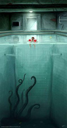 Mi pánico a las piscinas hondas de cuando era pequeña