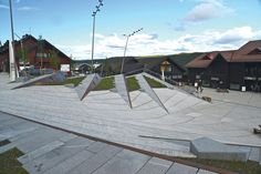architecture norway | Town centre, Geilo