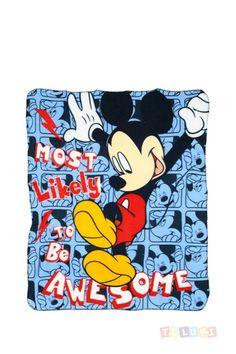 Plaid Mickey  https://twitter.com/Tolukicom #enfant #pyjama #Disney #Mickey