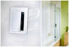The smart cascata dual control thermostatic concealed shower valve Fitted Bathroom Furniture, Shower Valve, Bathroom Medicine Cabinet
