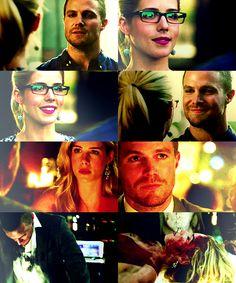 Arrow - Oliver and Felicity #Season3 #Olicity