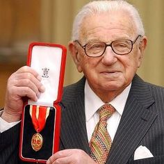 Sir Nicholas Winton-Rescued 669 Jewish children from the Nazi's/Holocaust