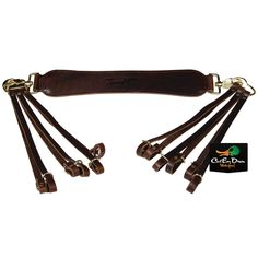 Coyote Company Leather Game Bird Holder Carrier Hanger Quail Dove Bird Snap On Hunting Ammunition Belts & Bandoliers