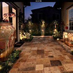 Great garden home/zero lot line landscaping