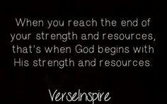 God's Resources