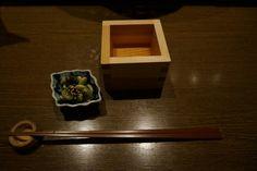 白鹿桝酒-Hakushika masuzake- from 熟成古酒Barくおん-Jukusei kosyu bar Kuon-, Kitashinchi Osaka