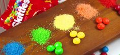 Note: For bath bombs?? - Turn Skittles into the most delicious sprinkles you've ever had. | 23 Cooking Tips To Maximize What You Already Have