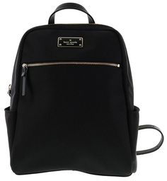 KATE SPADE BLAKE AVENUE LARGE HILO NYLON BACKPACK BLACK WKRU3919 NWT $299
