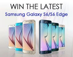 Win the latest Samsung Galaxy S6/S6 edge