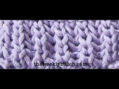 How to Brioche stitch