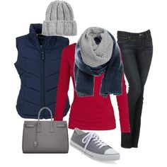 Winter laid back outfit