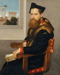 Bartolommeo Bonghi (died 1584) Giovanni Battista Moroni (Italian, Albino, no later than 1524–1578 Albino) shortly after 1553. MET, NYC