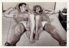 Homo History: Even More Men in Bed