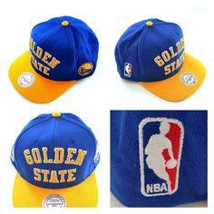 3ef2a447049 Mitchell and Ness Golden State Warriors Wordmark Jersey Hook Snapback Cap  NBA OS #MitchellNess #