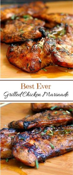 10 Easy Chicken Recipes 2017 😀 How to Make Delicious Family Dinner 😱 Best Recipes Video - The Best Chicken Recipes Best Grilled Chicken Marinade, Chicken Marinade Recipes, Best Chicken Recipes, Grilling Chicken, Best Grill Recipes, Grilled Chicken Tenders, Homemade Marinades For Chicken, Grilled Food, Grilled Chicken Marinade Easy