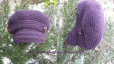 made with love: Free crochet patterns Crochet Adult Hat, Mode Crochet, Crochet Cap, Crochet Scarves, Crochet Clothes, Yarn Projects, Crochet Projects, Crochet Tutorials, Crochet Designs