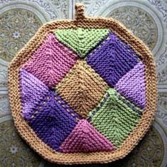 Domino Knitted Potholder Source by muellerulla potholders Knitting Patterns Free, Free Knitting, Crochet Patterns, Knitting Projects, Sewing Projects, Mitered Square, Crochet Potholders, Square Patterns, Knit Or Crochet