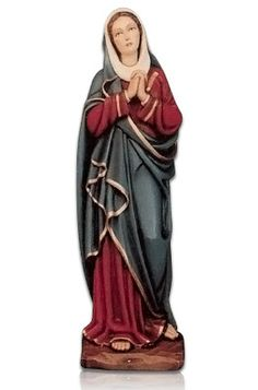 The Madonna Addolorata Fiberglass Statues are made in Italy where the statues were created. The Statues are made for indoor and outdoor use. They are made in Italy by some of the finest fiberglass experts in the World. The color finish is wonderful and has a magnificent shine.