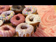 Como Fazer Donuts - [rosquinha americana] - YouTube