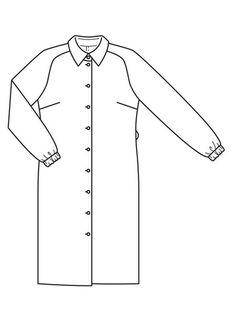 Burda Style Magazine, Drawing Clothes, Day Work, Technical Drawing, Dress Patterns, Chef Jackets, Tunic, Bikini, Couture