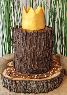 How to make a log cake!