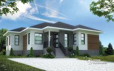 Détail du plan de Maison unifamiliale W3133-V3