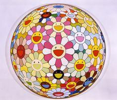 """""""Flowerball Margaret (3D)"""",  2008 / By Takashi Murakami"""