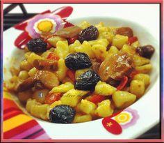 I Pasticci della Pupa: Chicche di patate con funghi pomodorini e olive ne...