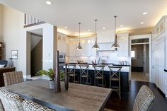 Kitchen- Love the open and bright feel.