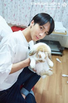 @RealVIXX_Japan:From 「Project VIXX 2~Invaders From Space Returns~」, a fluffy bunny and Ravi. #VIXX #RAVI #ProjectVIXX2 #DamnRa  Trans. cr: fyeah-vixx