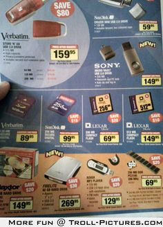 Tech magazine ads from 2004