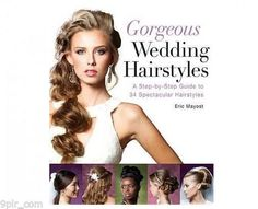 Shop for Gorgeous Wedding Hairstyles: A Step-by-Step Guide to 34 Spectacular Hairstyles on Glam O' Sphere Boutique. Get the best price on Gorgeous Wedding Hairstyles: A Step-by-Step Guide to 34 Spectacular Hairstyles in Nigeria. Half Up Wedding, Elegant Wedding Hair, Wedding Hair Down, Wedding Hairstyles For Long Hair, Wedding Updo, Down Hairstyles, Trendy Hairstyles, Beautiful Hairstyles, Prom Hairstyles