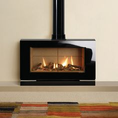 Stoves | Gas | Gazco Riva Vision Large Gas Stove
